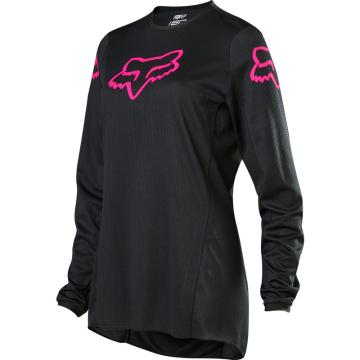Fox Youth Girls 180 Prix Jersey - Black/Pink