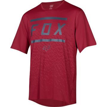 Fox Youth Ranger Short Sleeve Jersey - Cardinal