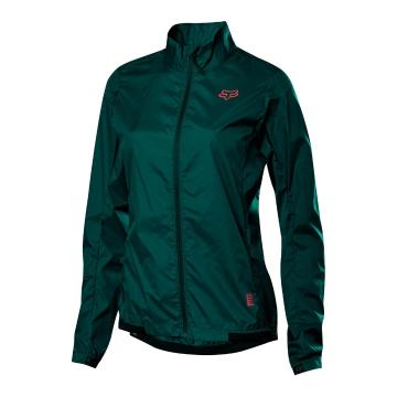 Fox Women's Defend Wind Jacket - Dark Green