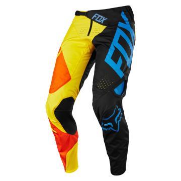 Fox 360 Preme Pants - Black/Yellow