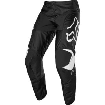 Fox Youth 180 Prix Pants - Black/White - Black/White