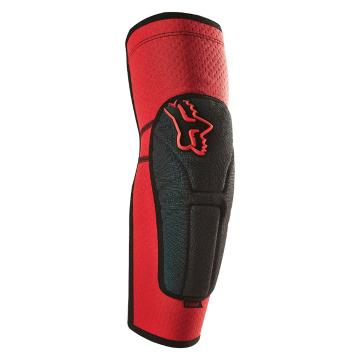 Fox Launch Enduro Elbow Pads - Red