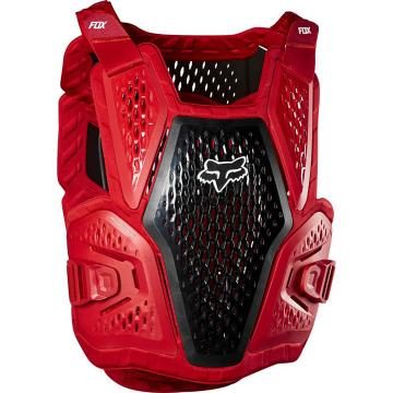 Fox Youth Raceframe Roost Chest Protector - Flame Red