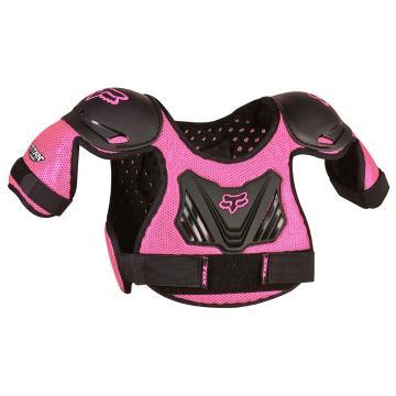 Fox Peewee Titan Roost Deflector - Black/Pink