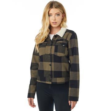 Fox Women's Burnett Lined Flannel Shirt