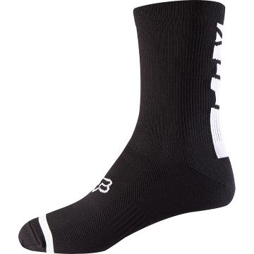 "Fox 8"" Trail Socks - Black"