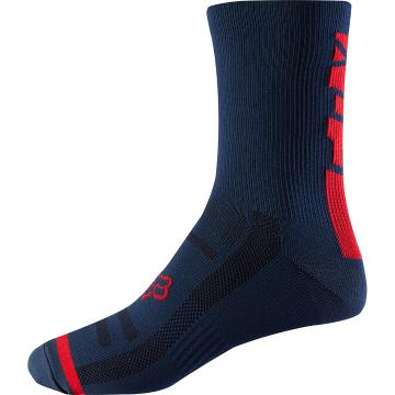 "Fox 8"" Trail Socks - Light Indigo"