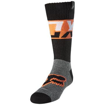 Fox Youth Afterburn Socks - Black