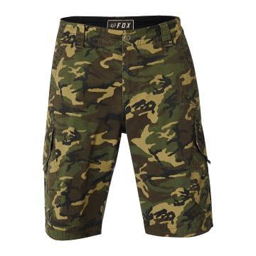 Fox Men's Slambozo Camo Cargo Shorts - Green Camo