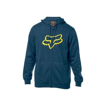 Fox Men's Legacy Foxhead Zip Fleece Hoody - Navy