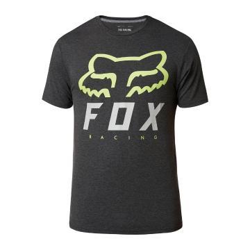 Fox Men's Heritage Forger Short Sleeve Tech Tee - Black/Green