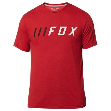 Fox Down Shift Short Sleeve Tech Tee - Cardinal