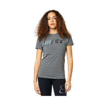 Fox Women's Downshift Short Sleeve Tee - Heather Graphite