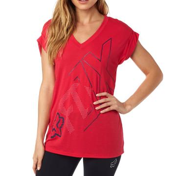 Fox Women's Attent V Neck Tee