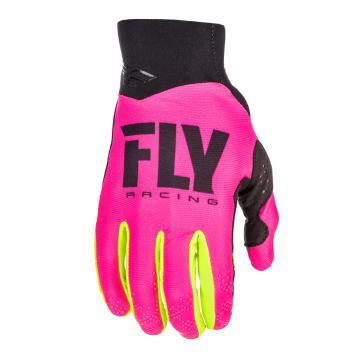 Fly Racing Pro Lite Glove - Pink/Hi-Vis