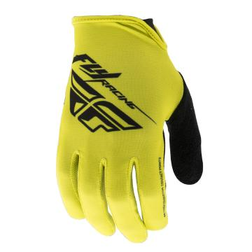 Fly Racing Media MTB Gloves - Lime/Black