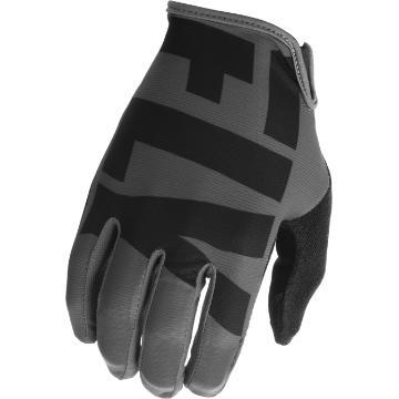 Fly Racing Media MTB Glove - Grey/Black