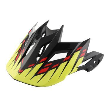 Fly Racing Default Visor - Black/Red/Yellow