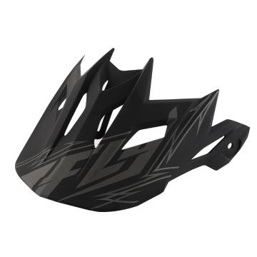 Fly Racing Default Visor - Black Matte