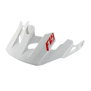 Fly Racing Freestone Visor - Gloss White