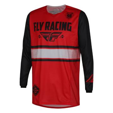 Fly Racing Kinetic Era Jersey - Red/Black