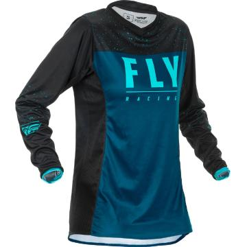 Fly Racing 2020 Women's Lite Jersey - Navy/Blue/Black