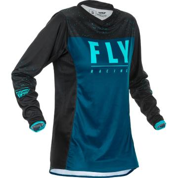 Fly Racing 2020 Youth's Lite Jersey - Navy/Blue/Black