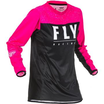 Fly Racing 2020 Youth's Lite Jersey - Neon Pink/Black