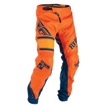 Fly Racing Men's Kinetic Pants - Ora/Navy