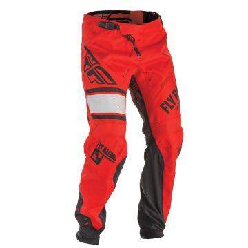 Fly Racing Men's Kinetic Pants - Red/Black