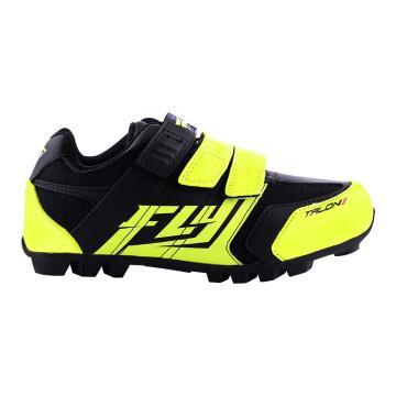 Fly Racing Youth Talon 2 MTB Shoes - Black/Hi-Vis