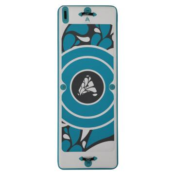 DVSport Inflatable Yoga Board - WHITE/TEAL