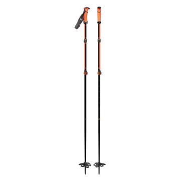 G3 G3 Via Ski Poles - Black/Orange - Black/Orange