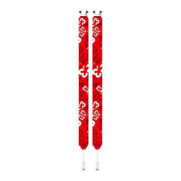 G3 2021 Escapist Universal Ski Skins - Red