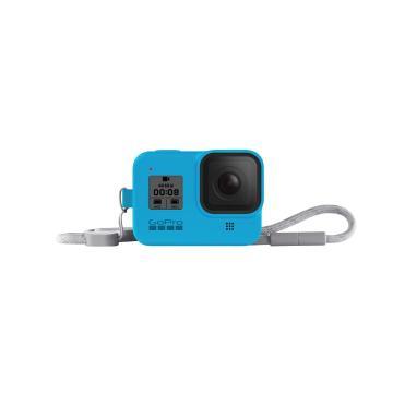 GoPro Sleeve + Lanyard (Hero8 Black) - Bluebird