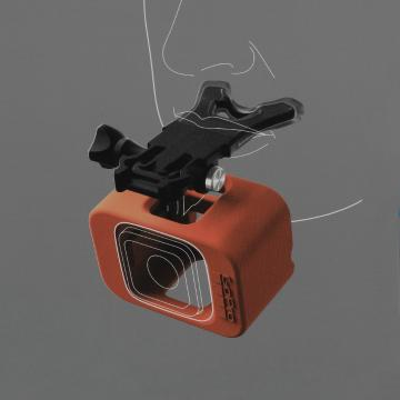 GoPro Bite Mount + Floaty - Session Cameras