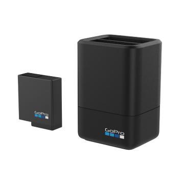 GoPro Dual Battery Charger + Battery (Hero8/Hero7/Hero6)