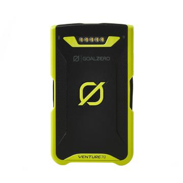 Goal Zero Vent 70 Solar Power Bank - Zero Green/Black