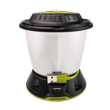Goal Zero Lighthouse 400 Core Lantern - Silver/Zero Green/Black