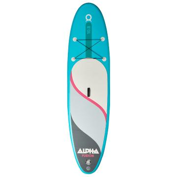 Alpha 10.8 Inflatable SUP Package - Jade