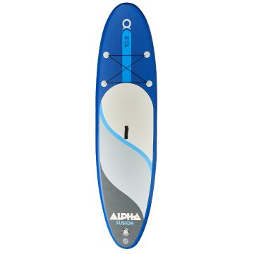 Alpha 10.8 Inflatable SUP Package - Dark Blue