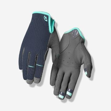 Giro LA DND Women's MTB Gloves - Midnight/Cool Breeze