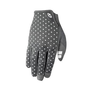 Giro Women's LA DND MTB Gloves - Dark Shadow/White Dots