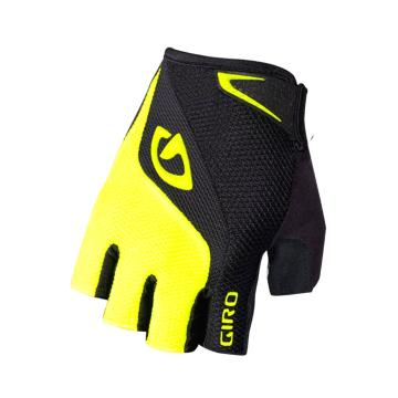 Giro Bravo Gel SF Gloves - Black/HL Yellow