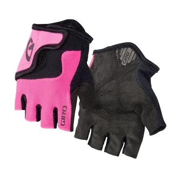 Giro Bravo Jr Gloves - Pink/Black