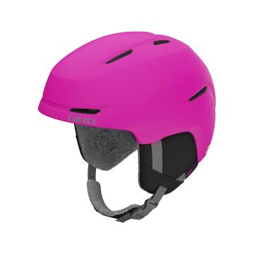 Giro 2021 Youth Spur MIPS Helmet - Matt Bright Pink
