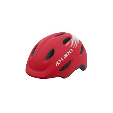 Giro Scamp Youth Helmet - Bright Red