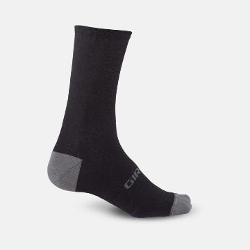 "Giro HRC + Merino 6"" Socks - Black/Charcoal"