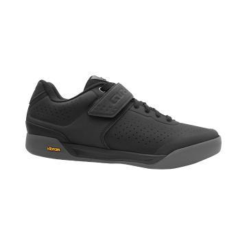 Giro Chamber Men's MTB Shoes - Black/Dark Shadow