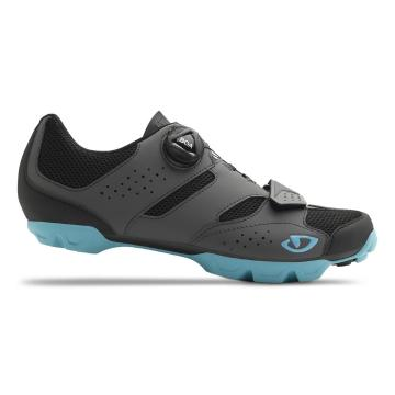 Giro 2019 Women's Cylinder MTB Shoes - Dark Shadow/Iceberg
